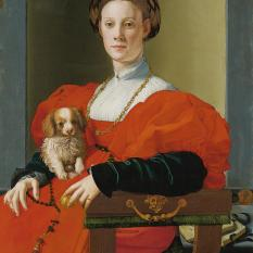 staedel_altemeister_bronzino_agnolo_ladyinred