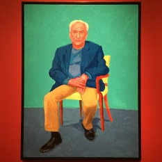 Hockney exhibition Frank Gehry