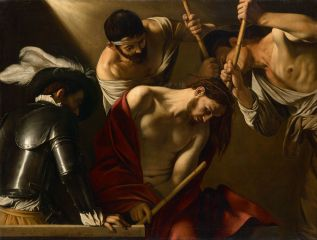michelangelo_merisi_called_caravaggio_-_the_crowning_with_thorns_-_google_art_project