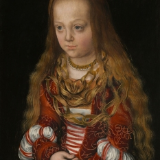 Lucas Cranach the Elder (German, 1472 - 1553 ), A Princess of Saxony, c. 1517, oil on panel, Ralph and Mary Booth Collection