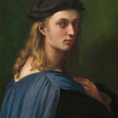 Raphael (Marchigian, 1483 - 1520 ), Bindo Altoviti, c. 1515, oil on panel, Samuel H. Kress Collection 1943.4.33