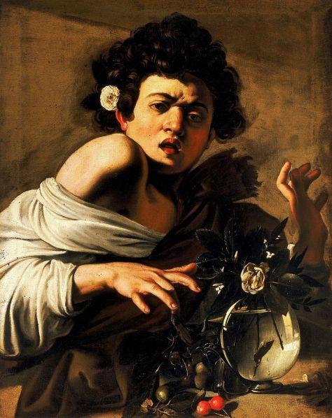 Boy_Bitten_by_a_Lizard-Caravaggio_Longhi