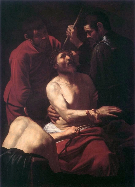 Caravaggio_Crowning with Thorns