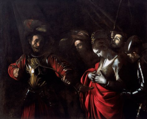 Caravaggio_Martyrdom of Saint Ursula