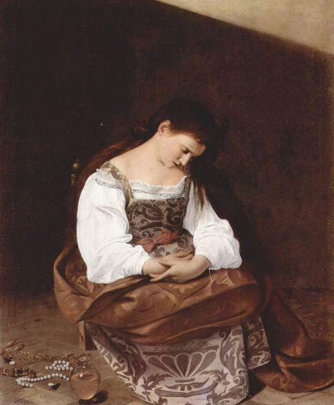 Caravaggio_Penitent Magdalene