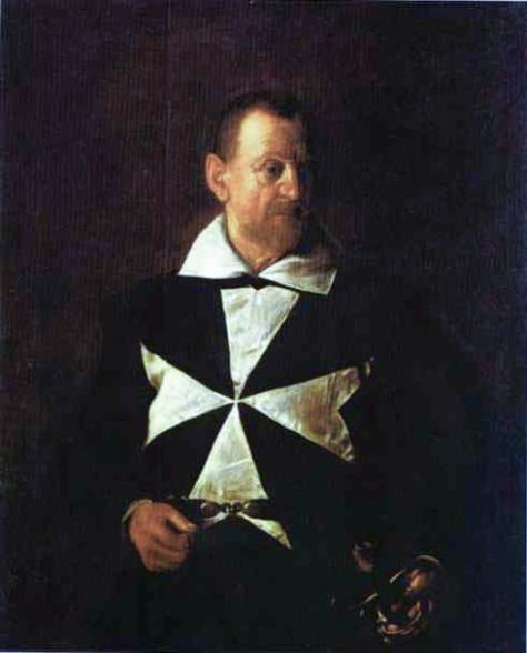 Caravaggio_Portrait of Fra Antionio Martelli
