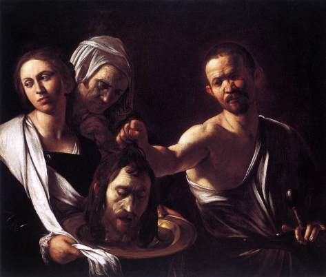 Caravaggio_Salome with the Head of John the Baptist