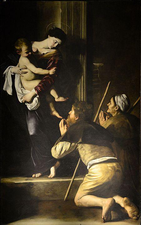 Madonna of Loreto_Carravagio