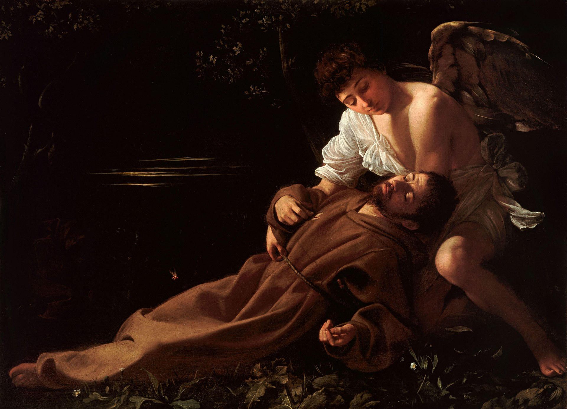 Saint_Francis_of_Assisi_in_Ecstasy-Caravaggio